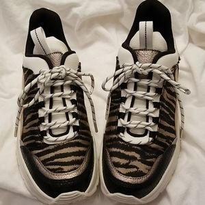 H&M Tiger Striped Sneakers